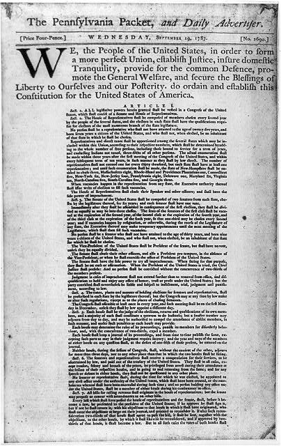 Homepage Newspaper: Today In History: First U.S. Daily Newspaper