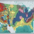 The national atlas of the United States of America - Geology