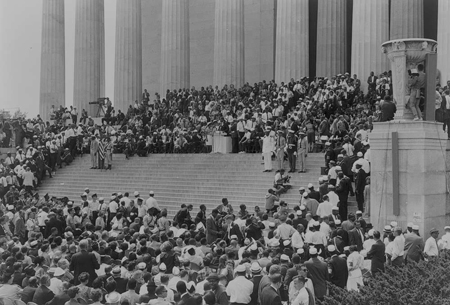 March on Washington, August 28, 1963. U.S. News and World Report Photograph Collection, Prints and Photographs Division.