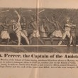 Death of Capt. Ferrer, the Captain of the AMISTAD, July 1839