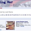 Experiencing War: Stories from the Veterans History Project