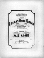 Lincoln's dying refrain