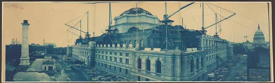 Construction of the Library of Congress
