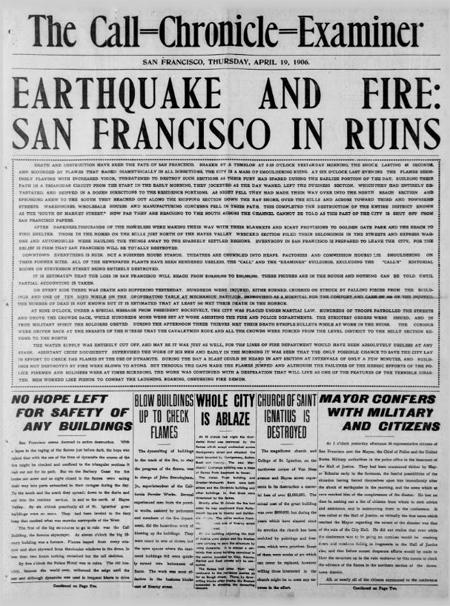 San Francisco in Ruins