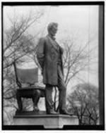Lincoln statue, bronze