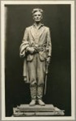 Abraham Lincoln as captain in the militia