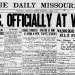 Today in History: U.S. Enters World War I