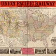 New Map Of The Union Pacific Railway, The Short, Quick And Safe Line To All Points West