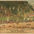Hot Springs, Arkansas. Bath houses