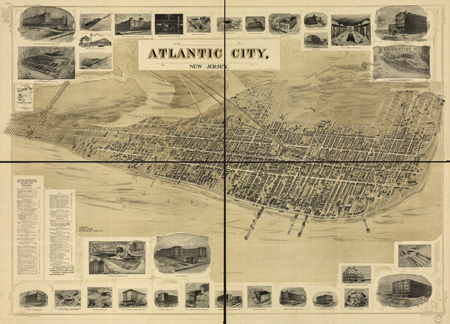 Atlantic City, New Jersey c. 1900