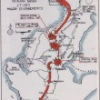 Map of Okinawa and Journey of the 383rd Infantry
