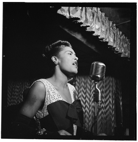 Portrait of Billie Holiday, Gottlieb, Downbeat, New York, N.Y., ca. Feb. 1947