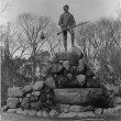 Statue of Capt. Parker, Lexington, Mass.