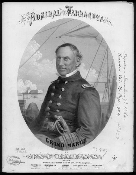 Farragut's grand march