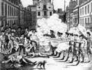Massacre, King Street Boston March 5, 1770
