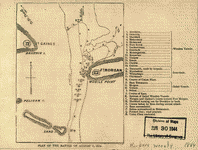 Plan of the battle of August 5, 1864