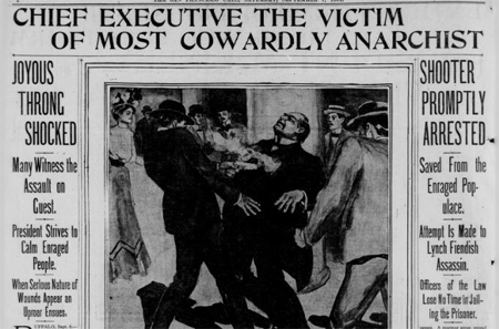 McKinley Assassination newspaper coverage