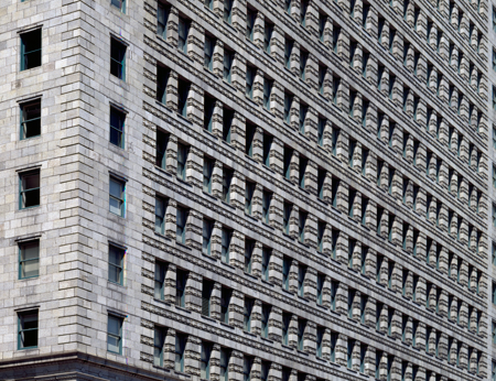 Architectural details of Daniel Burnham's 1910 Peoples Gas Building