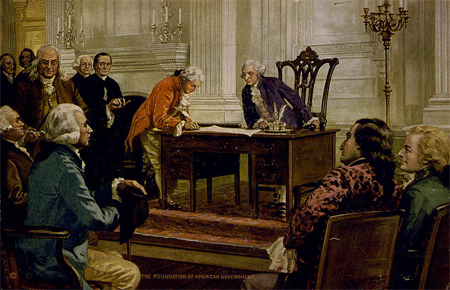 The foundation of American government