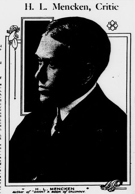 H.L. Mencken, Critic