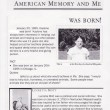 Learning from the Source: American Memory & Me Birthday Project