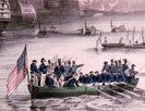 Landing of the American forces under Genl. Scott, at Vera Cruz