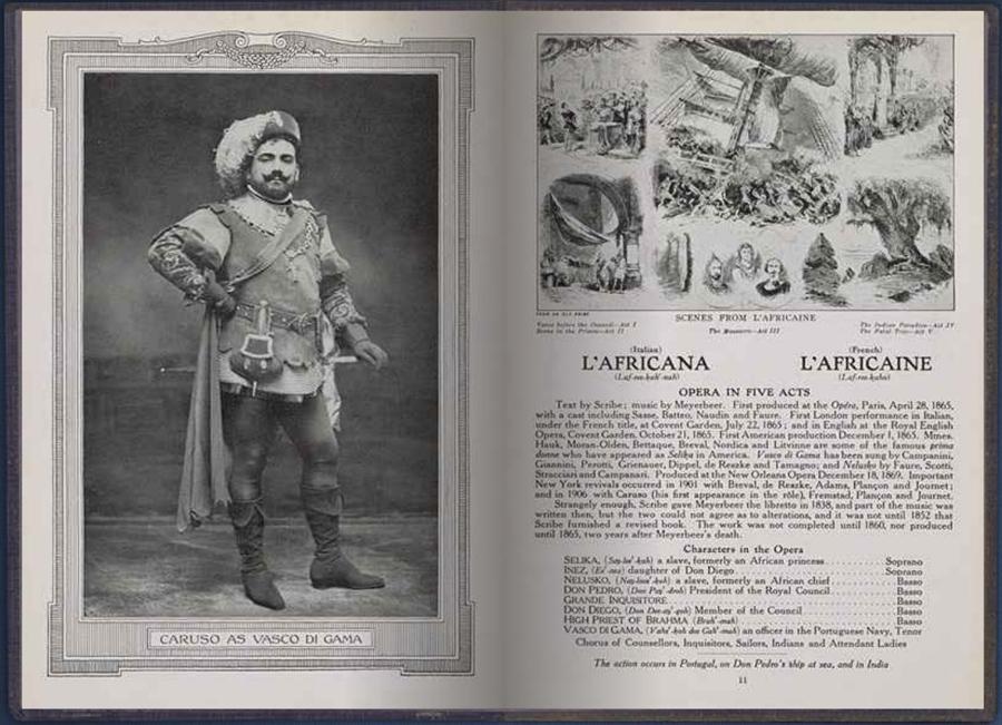 L'Africana - L'Africaine Opera