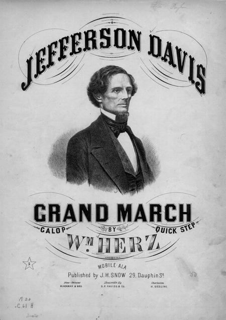 Jefferson Davis grand march