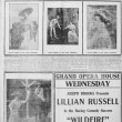 Lillian Russell newspaper coverage