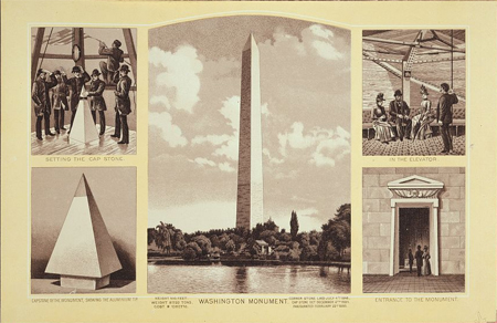 Image result for washington monument 1884