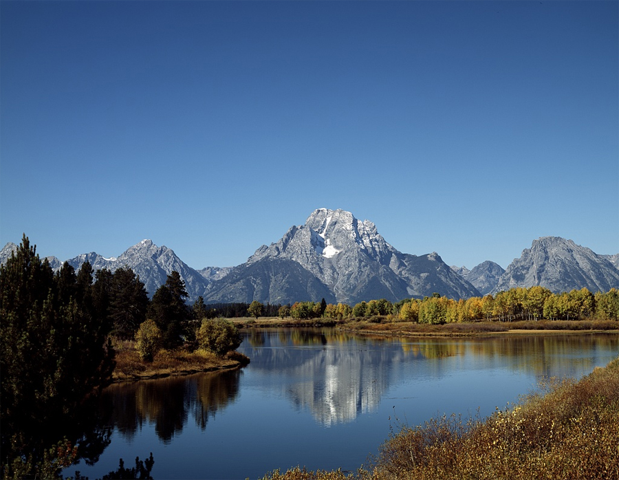 View, Grand Teton National Park, Wyoming