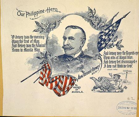 Adm. George Dewey, head-and-shoulders portrait