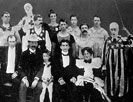 Harry and Beatrice Houdini with the Welsh Brothers Circus