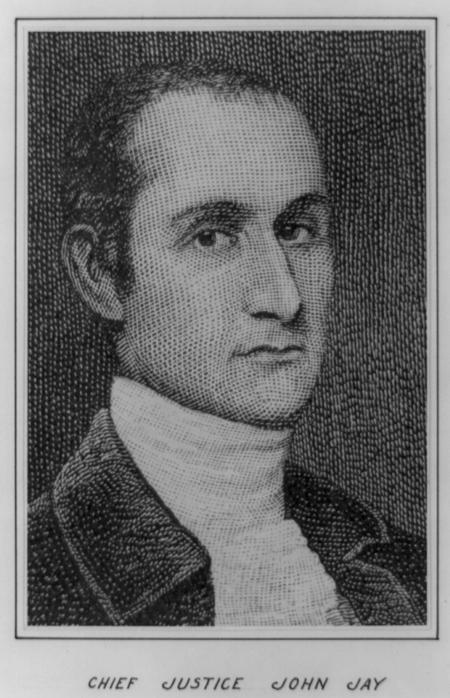 John Jay, head-and-shoulders portrait