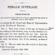 An Act to Grant to the Women of Wyoming Territory the Right of Suffrage and to Hold Office