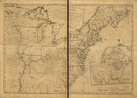 The United States according to the definitive treaty of peace signed at Paris Sept. 3d. 1783