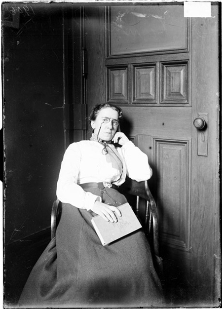 Emma Goldman, facing the camera