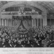 Daniel Webster addressing the United States Senate, in the great debate of the Constitution and the Union 1850