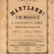 Maryland! my Maryland! a patriotic song