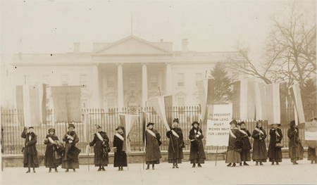 Penn[sylvania] on the picket line-- 1917