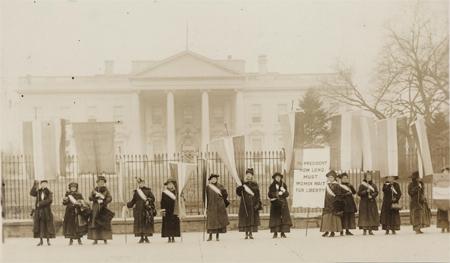 Penn[sylvania] on the picket line-- 1917