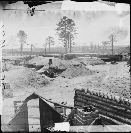 Petersburg, Va. Fortifications