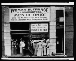 Woman suffrage headquarters in Upper Euclid Avenue, Cleveland