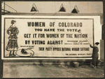 Putting up billboard in Denver