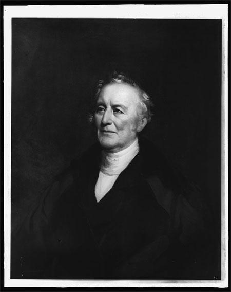 Col. John Trumbull, half-length portrait