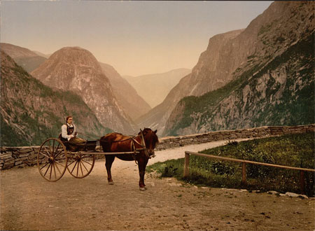 Norwegian carriage [Norway]