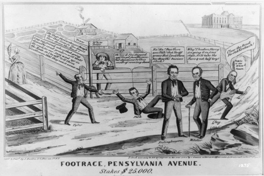 Footrace, Pennsylvania Avenue