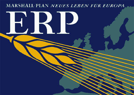 Poster promoting European Recovery Program (Marshall Plan)