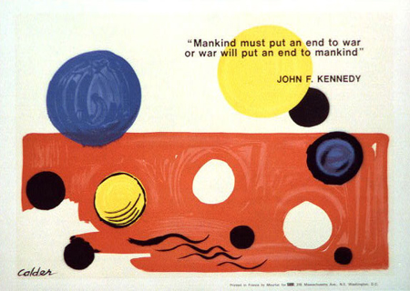painting by Alexander Calder