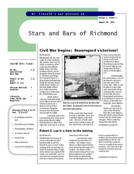 Civilwar_Newsletter-front